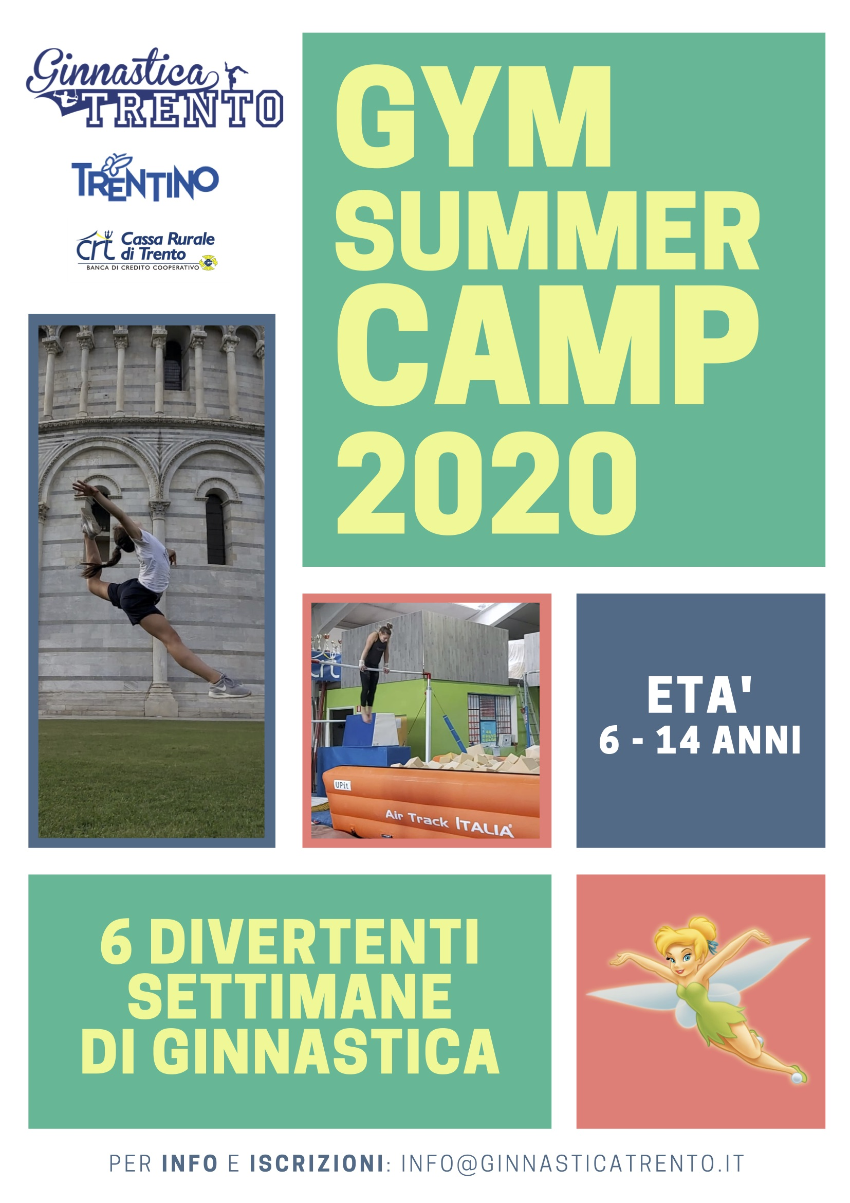 GYM SUMMER CAMP 2020 fronte
